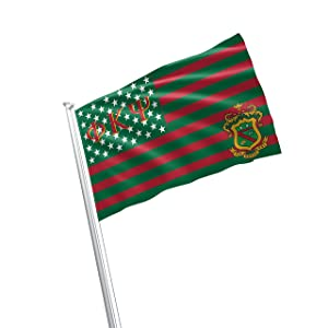 Phi Kappa Psi Fraternity Greek Life Licensed Flag 2x3 Feet Flag Banner Wall Decor Outdoor Indoor Decoration Brass Grommets Double Stitch