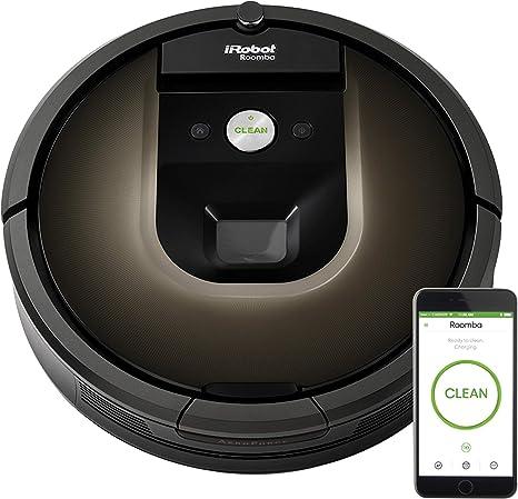 iRobot Roomba 980 - Robot aspirador, 35 x 9 cm de diámetro: Amazon.es: Hogar