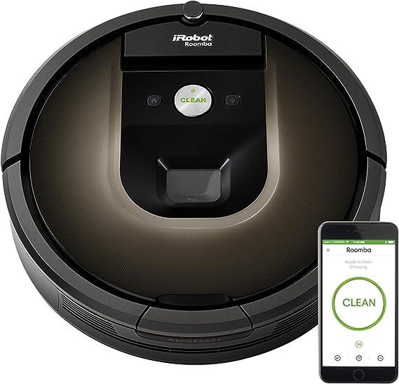 iRobot Roomba 980 - Robot aspirador, 35 x 9 cm de diámetro: Amazon ...