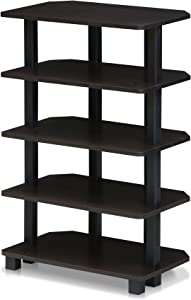 Furinno Turn-N-Tube 5-Tier Corner Storage Shelf