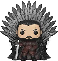 Funko Collectible Figure Pop! Deluxe, Game of Thrones, Jon Snow Sitting On Iron Throne