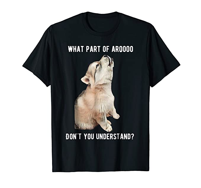 Amazon Com Siberian Husky Howl T Shirt Clothing