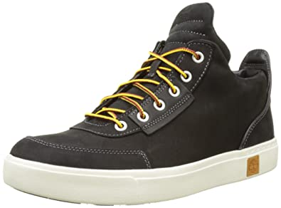 ba8d25833ba6 ... new concept TIMBERLAND Mens Amherst High Top Chukka Boots Jet Black TBL  Forty Full Grain . new arrival 176637762008367004210485758084872165916672n  ...
