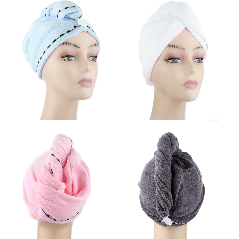 e331683dfc7fa Amazon.com  Microfiber Hair Drying Towels