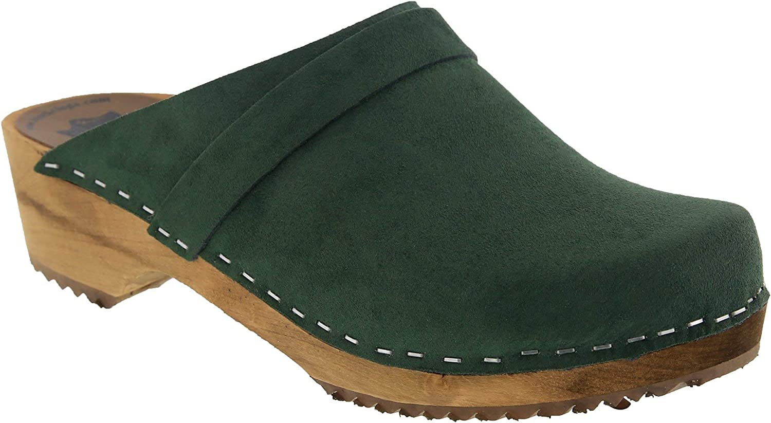 Norweign Clogs Re-soled Mahagony Leather 38