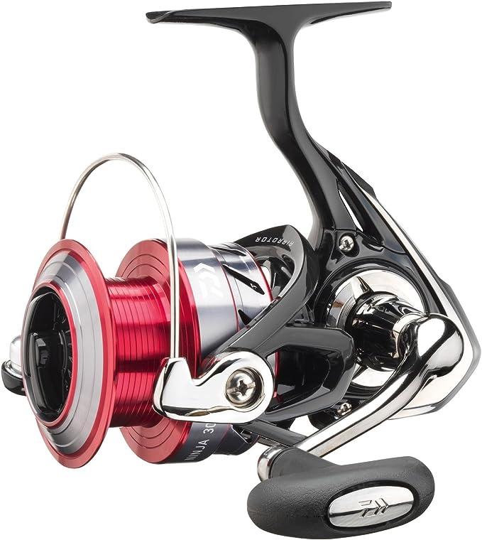 Daiwa Ninja A, Allround Spinning Fishing Reel Front Drag