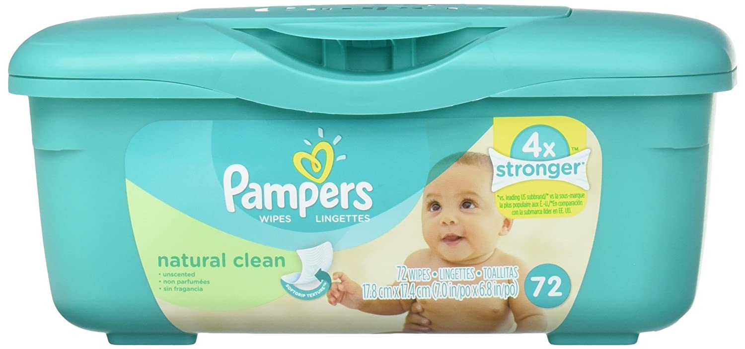 Amazon.com: Pampers Soft Care Wipes, Unscented, Aloe, 72 ct.: Health & Personal Care