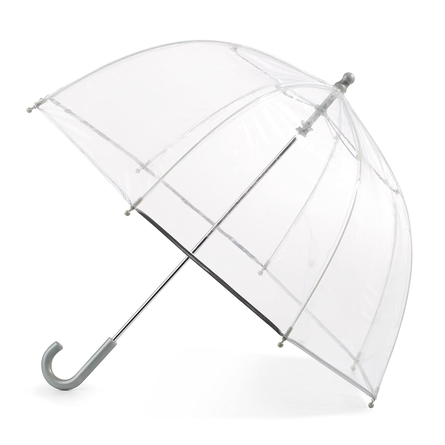 Totes Kid's Bubble Umbrella with Easy Grip Handle, Clear