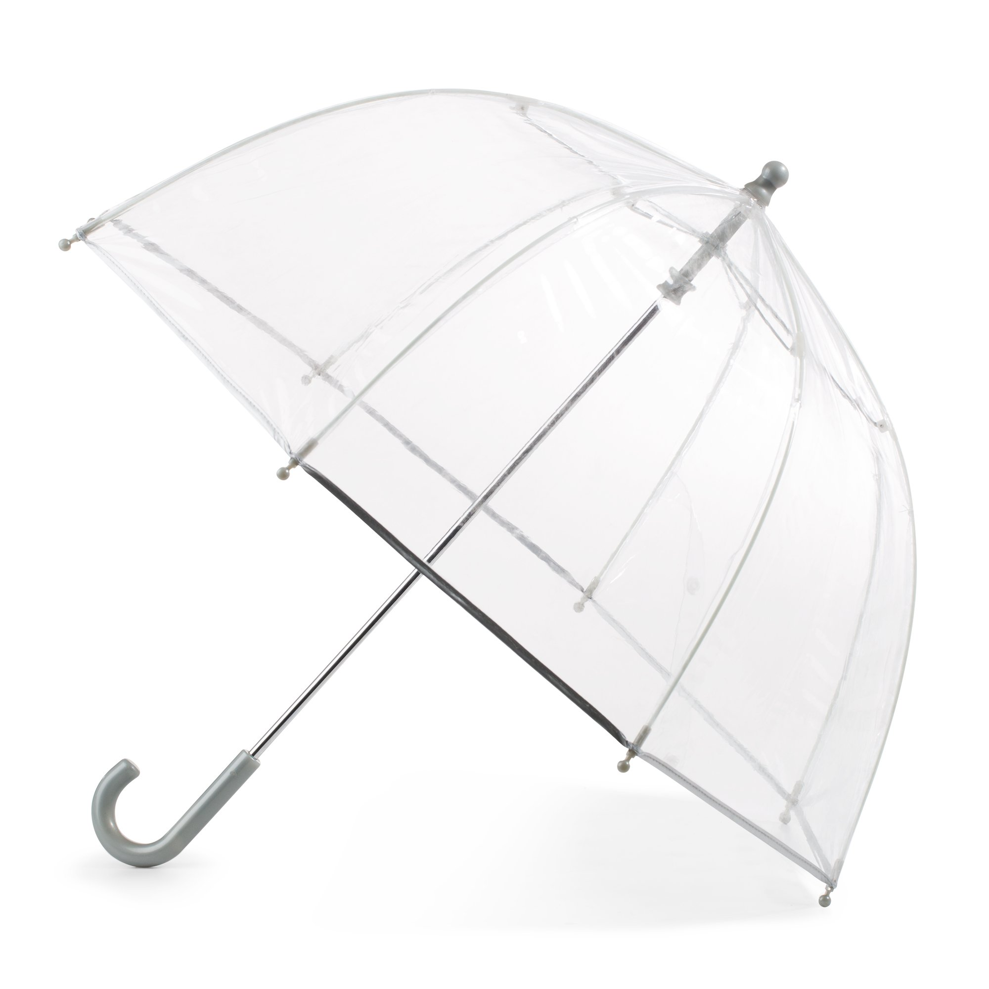 Totes Kid's Bubble Umbrella with Easy Grip Handle, Clear by totes