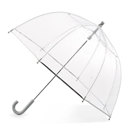 c8f985d829f7 Amazon.com: Totes Kid's Bubble Umbrella with Easy Grip Handle, Clear