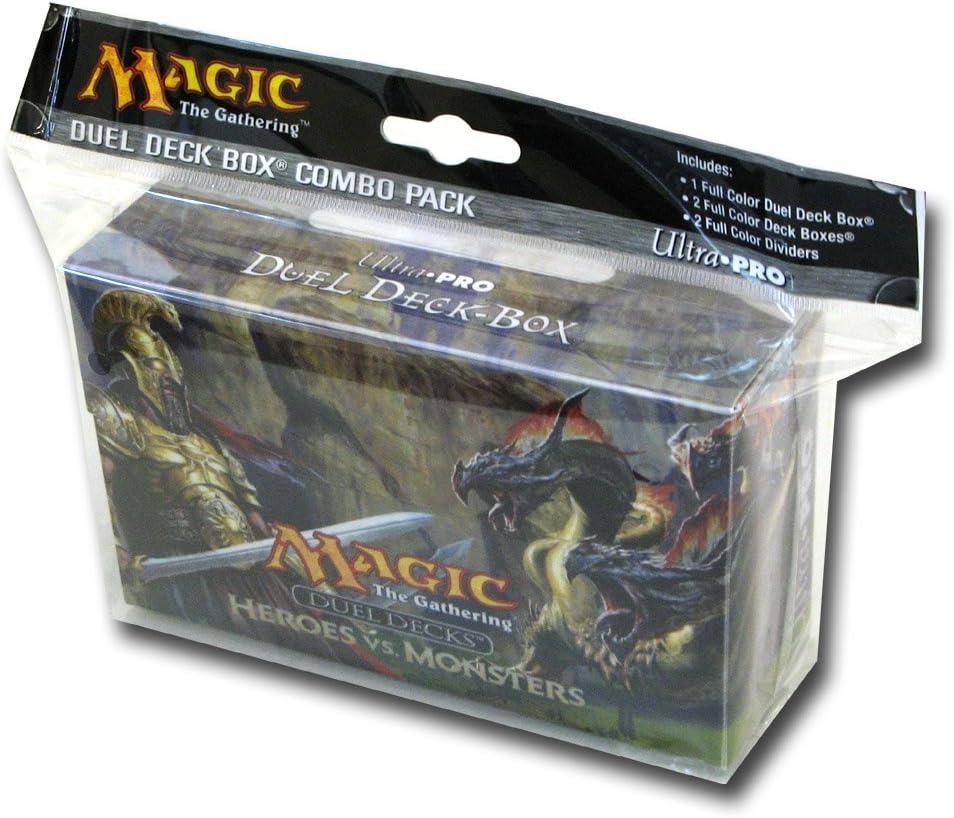 Caja 86111 - Deck Ultra Pro Heroes Vs Monsters: Amazon.es: Juguetes y juegos