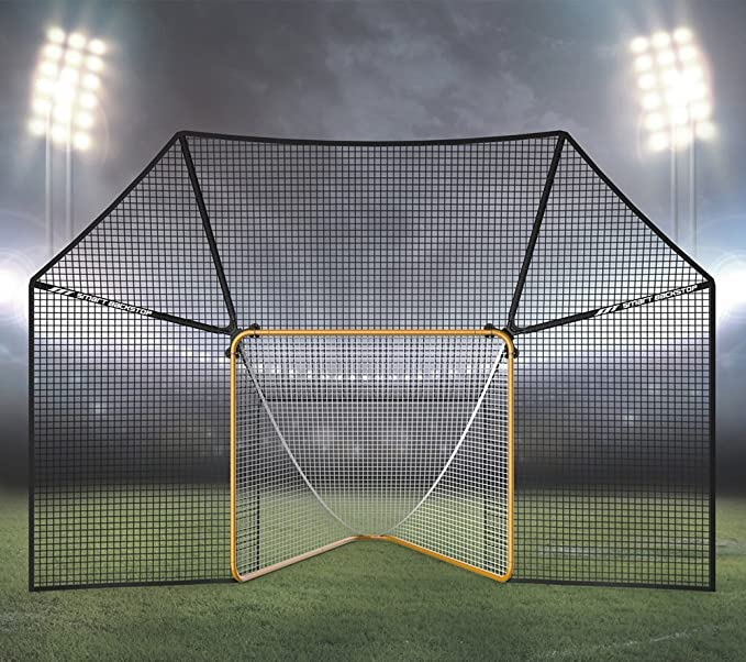 Smart Backstop for Lacrosse Goals - The Most Durable Model