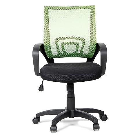 HomeTown Regus Desk Chair (Matt, Green)