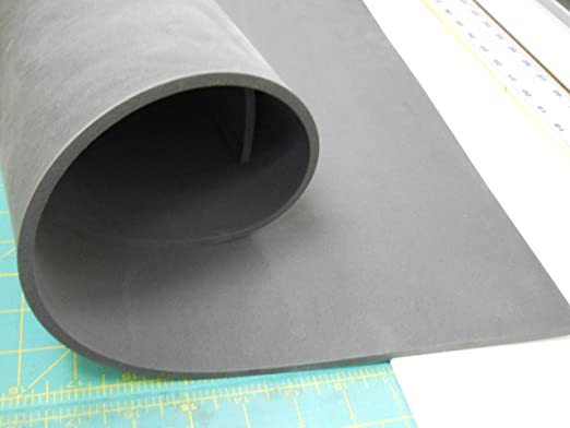 "Sticky back 3 pcs 3mm EVA foam sheet 1.75/"" X 39/"" in white only."