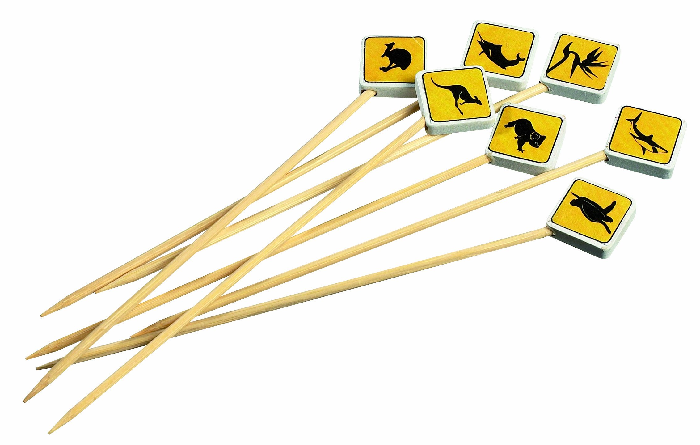Solia VO11870 Bamboo Road Signs Skewer, 4.7'' Length (Case of 2000)