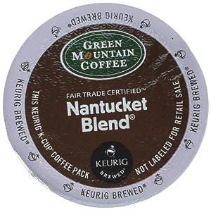 Green Mountain Coffee Roasters Nantucket Blend, Keurig Single-Serve K-Cup Pods, Medium Roast Coffee, 12 Count