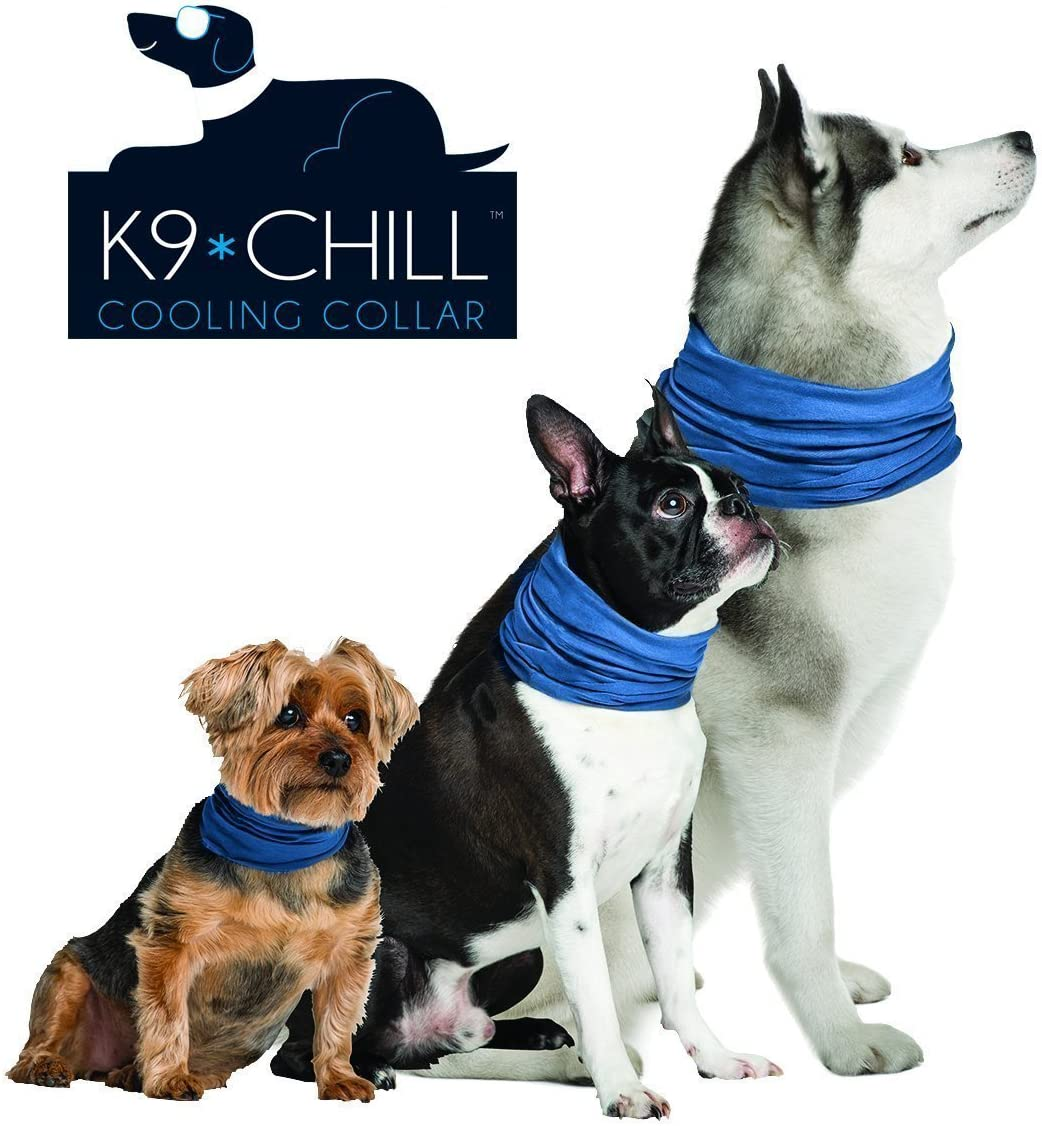 "Novel Brands K9 Chill Dog Cooling Collar (Small/Medium 8""- 20"")"