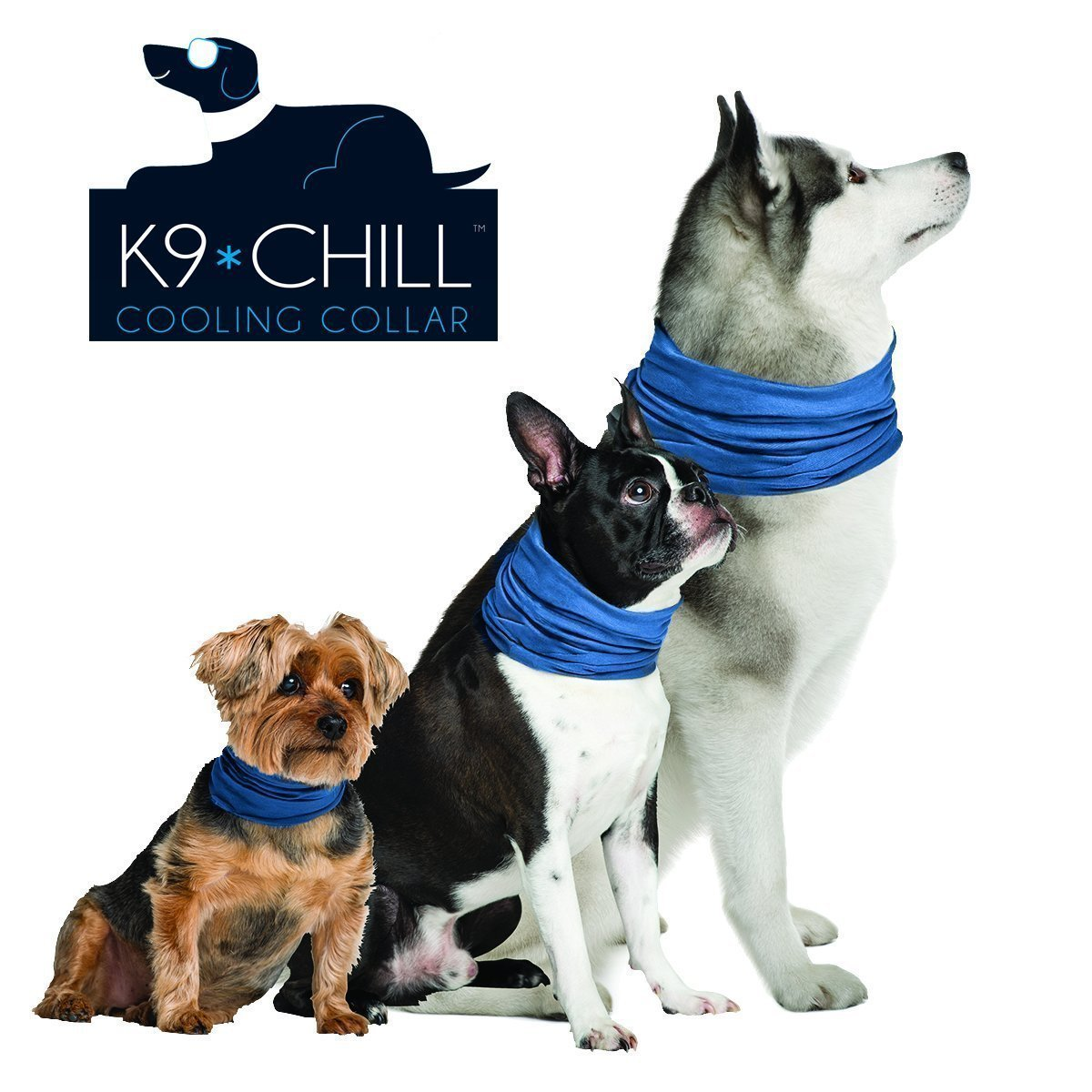 """K9 Chill Dog Cooling Collar (Large/XLarge 20"""" - 30"""")"""