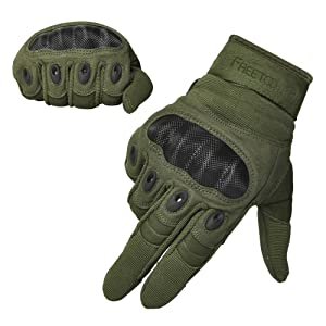 FREETOO Hard Knuckle Tactical Gloves Review