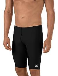 2faaf39ac01 Speedo Men's Endurance+ Polyester Solid Jammer Swimsuit