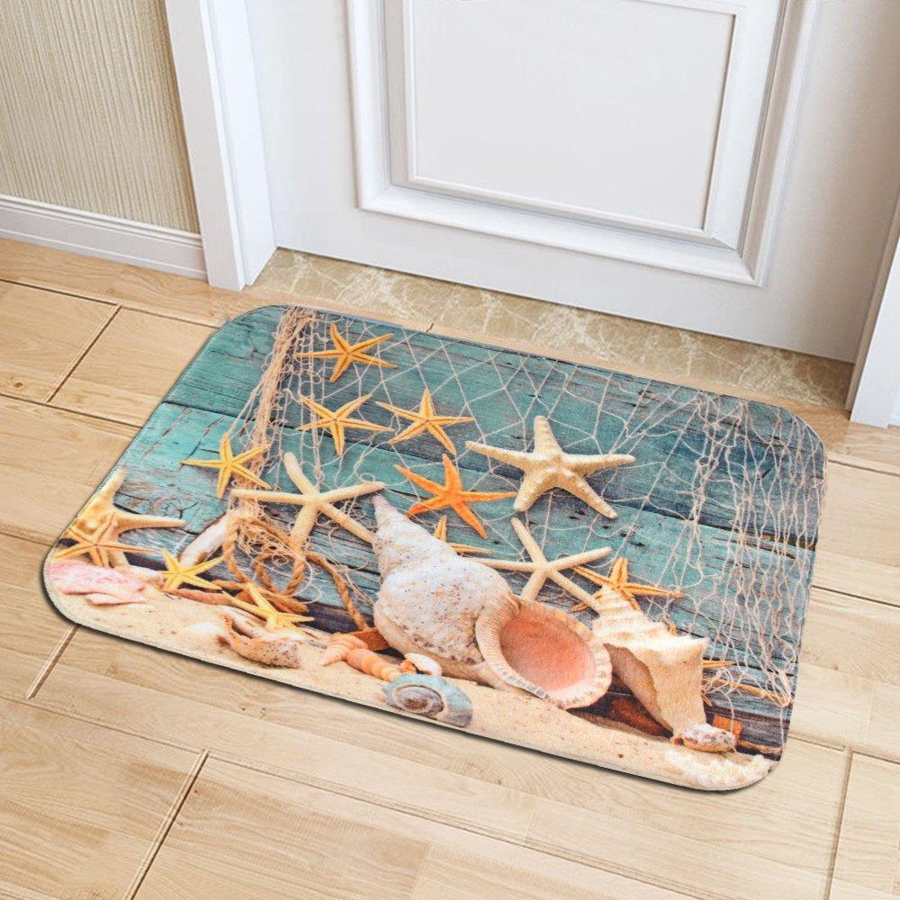 IMEI Shower Mat Anti-Skid Soft Absorbent Washable Comfort Rug Multi ...