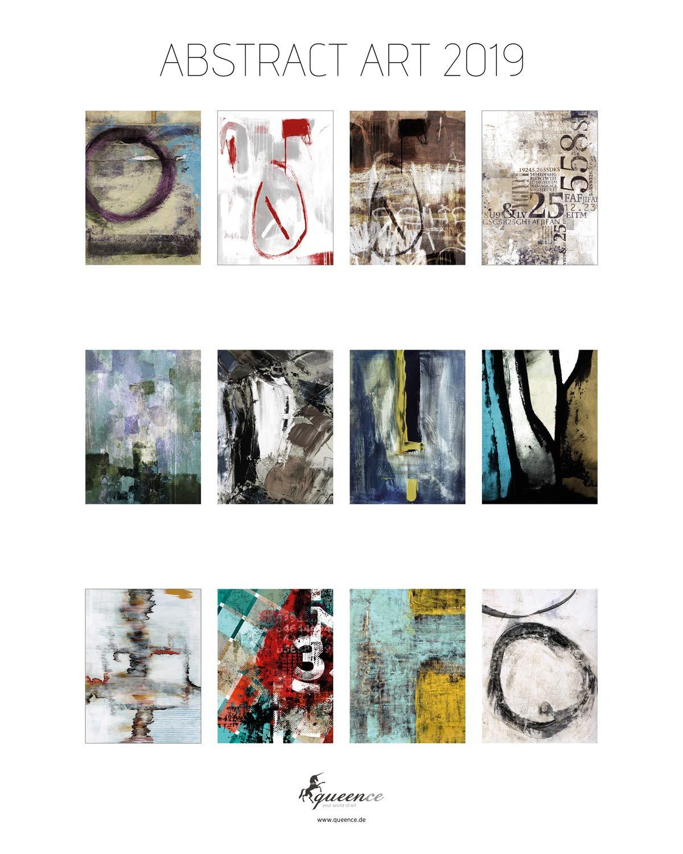 Premium Art-Kalender 2019   Fotokalender   'ABSTRACT ART 2019' Kalender im Rahmen   zum Aufhängen   Monatskalender im Rahmen   Weihnachts-Geschenk   Wand-Kalender   Kunstkalender, Größe 40x50 cm B077P5RGLQ    | Erste Kunden Eine Vollständi