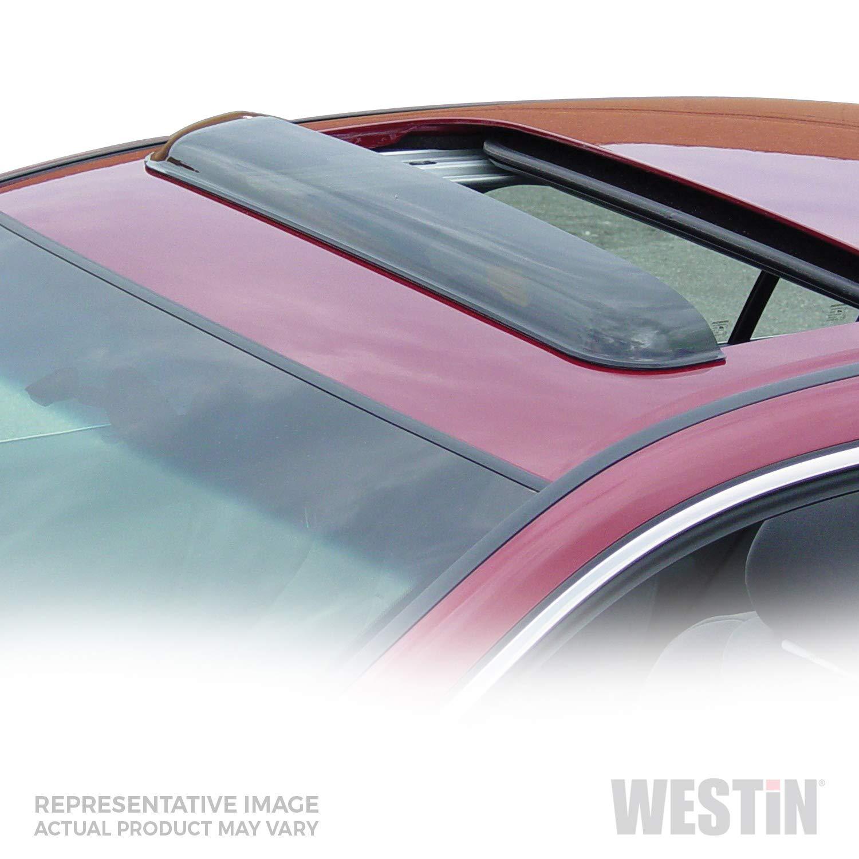 Wade 72-33106 36.5-Inch Wide Smoke Tint Sunroof Wind Deflector Westin Automotive Products Inc.