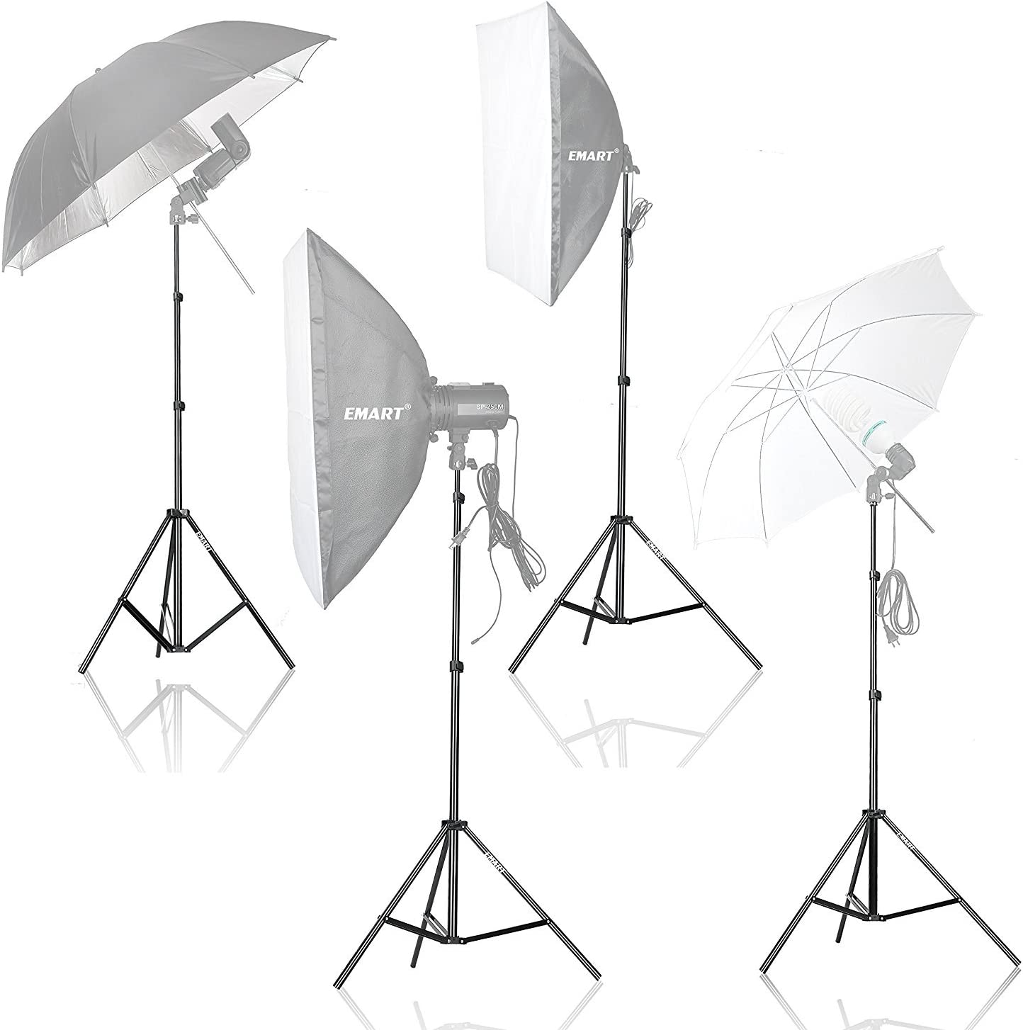 Emart 83 inch//7feet//210cm Photography Photo Studio Light Stand for Video Lighting Softbox Umbrella Flash Ring Light Camera