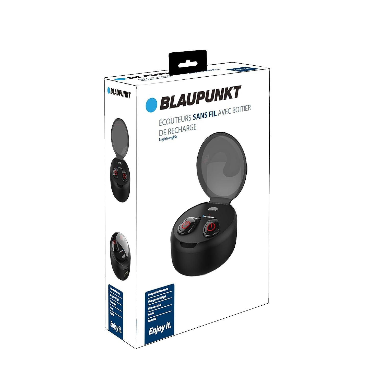 BLAUPUNKT BLP4720 OreilletteBluetooth sans Fil avec Boitier de Charge: Amazon.fr: High-tech