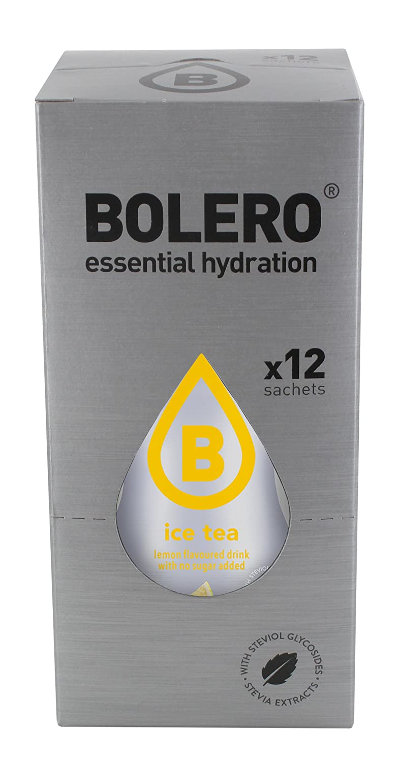 Bolero Ice Tea Lemon - Paquete de 12 x 8 gr - Total: 96 gr: Amazon.es: Salud y cuidado personal