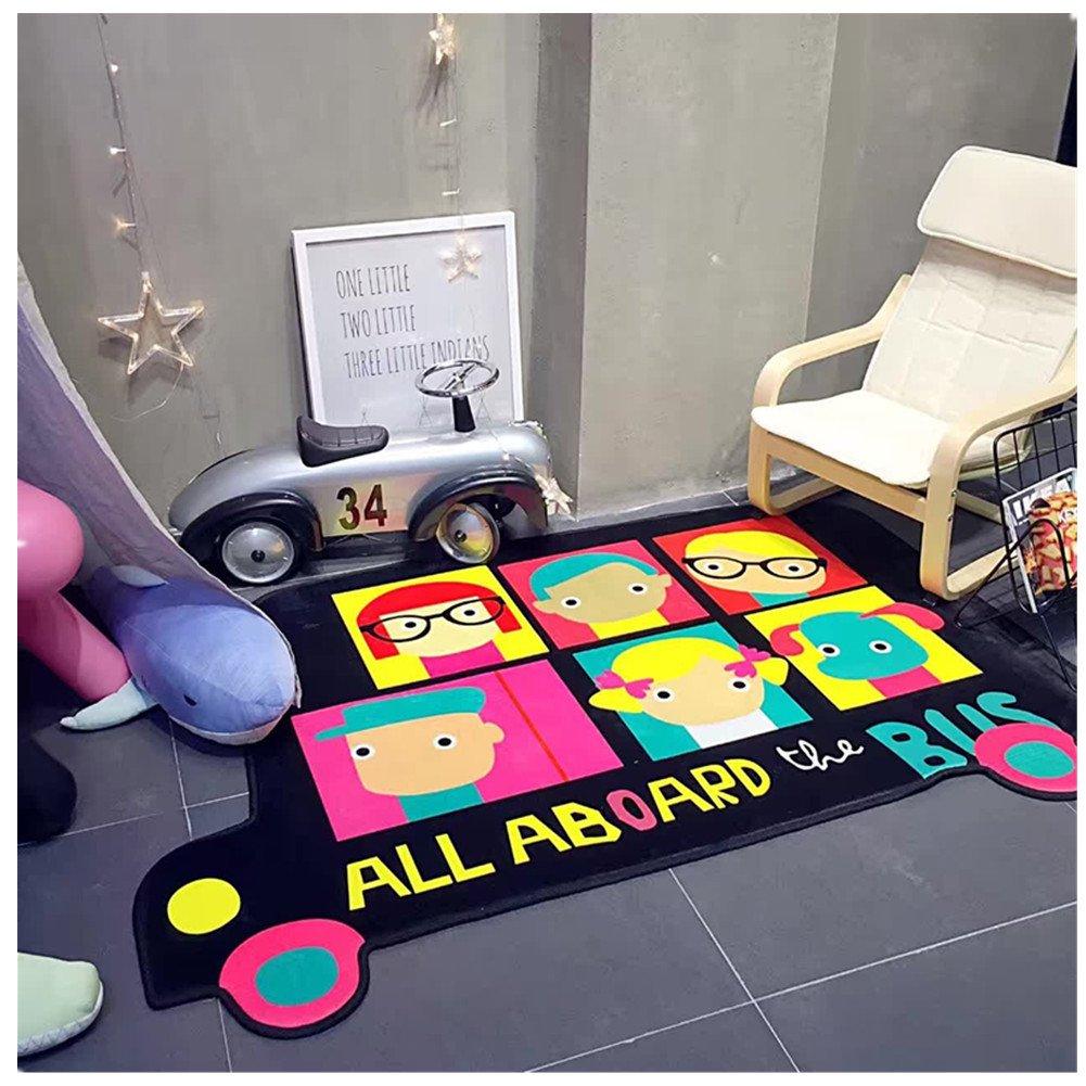 Kinder Erwachsener Cartoon faltbare Bodenmatte kriechende Matte Anti-Rutsch-Matte Sportmatte Zelt Matte Teppich