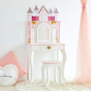 super popular 17737 2fe64 Teamson Kids TD-12951A Castle Childrens Girls Dressing Table ...