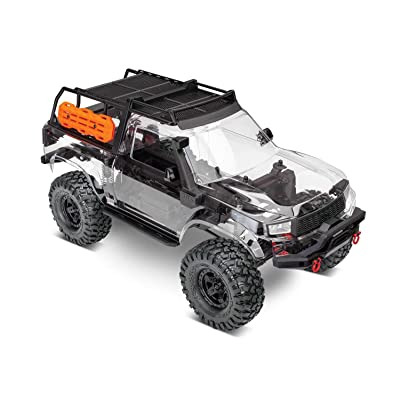 Traxxas 82010-4 TRX-4 Sport Unassembled Kit Includes: Pre-Cut Clear TRX-4 Sport: Toys & Games