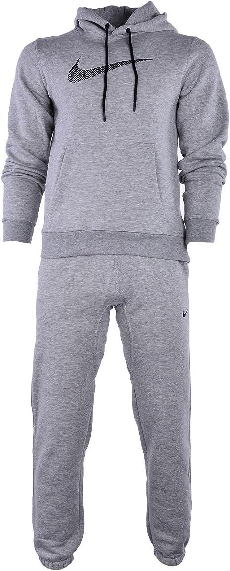 Nike Negro De Hombre 679387 Chándal Completo - Gris, Medium ...