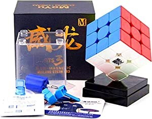LiangCuber Moyu Weilong GTS3 M Speed Cube GTS V3 Magnetic stickerless 3x3 Magic Cube GTS 3 M Puzzle Cube GTS 3M Color