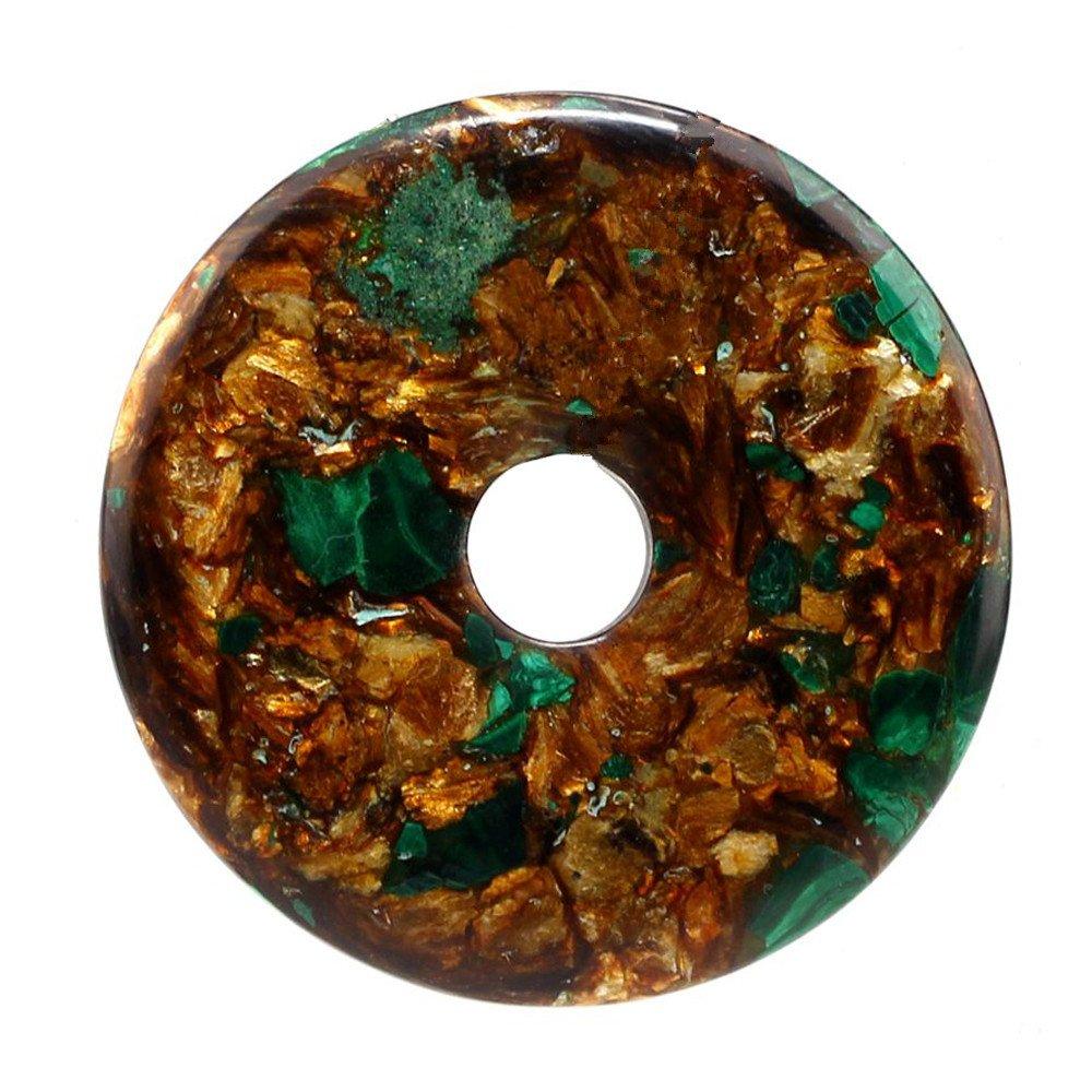 Malachite & bronzite