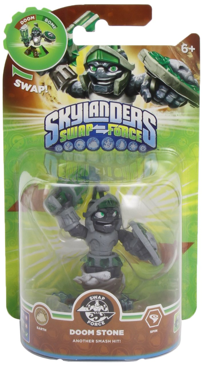 Skylanders Swap Force Swappable Character Figure Doom Stone