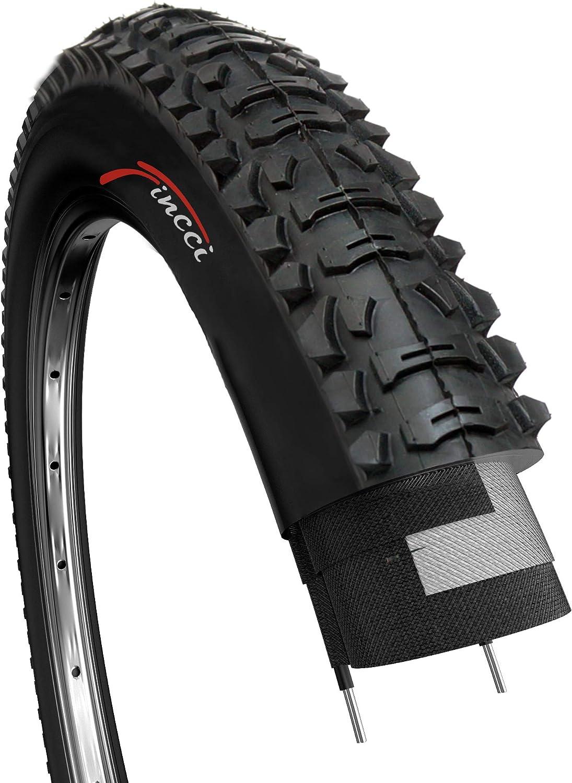 Fincci 26 x 1,95 Pulgadas 53-559 Plegable Cubierta para MTB Montaña Hibrida Bici Bicicleta: Amazon.es: Deportes y aire libre