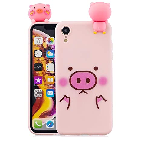 coque iphone xr cochon