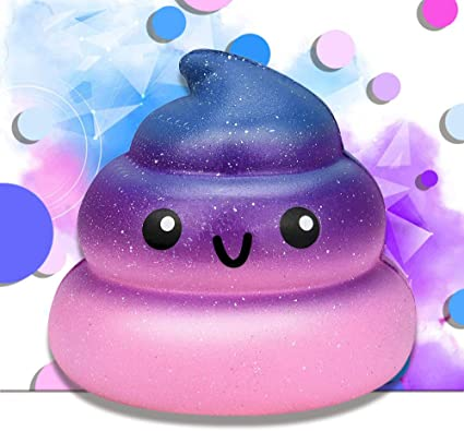 Squishy Galaxy Sleepy Poo Soft Squeeze Slow Rising Squishies USA Seller