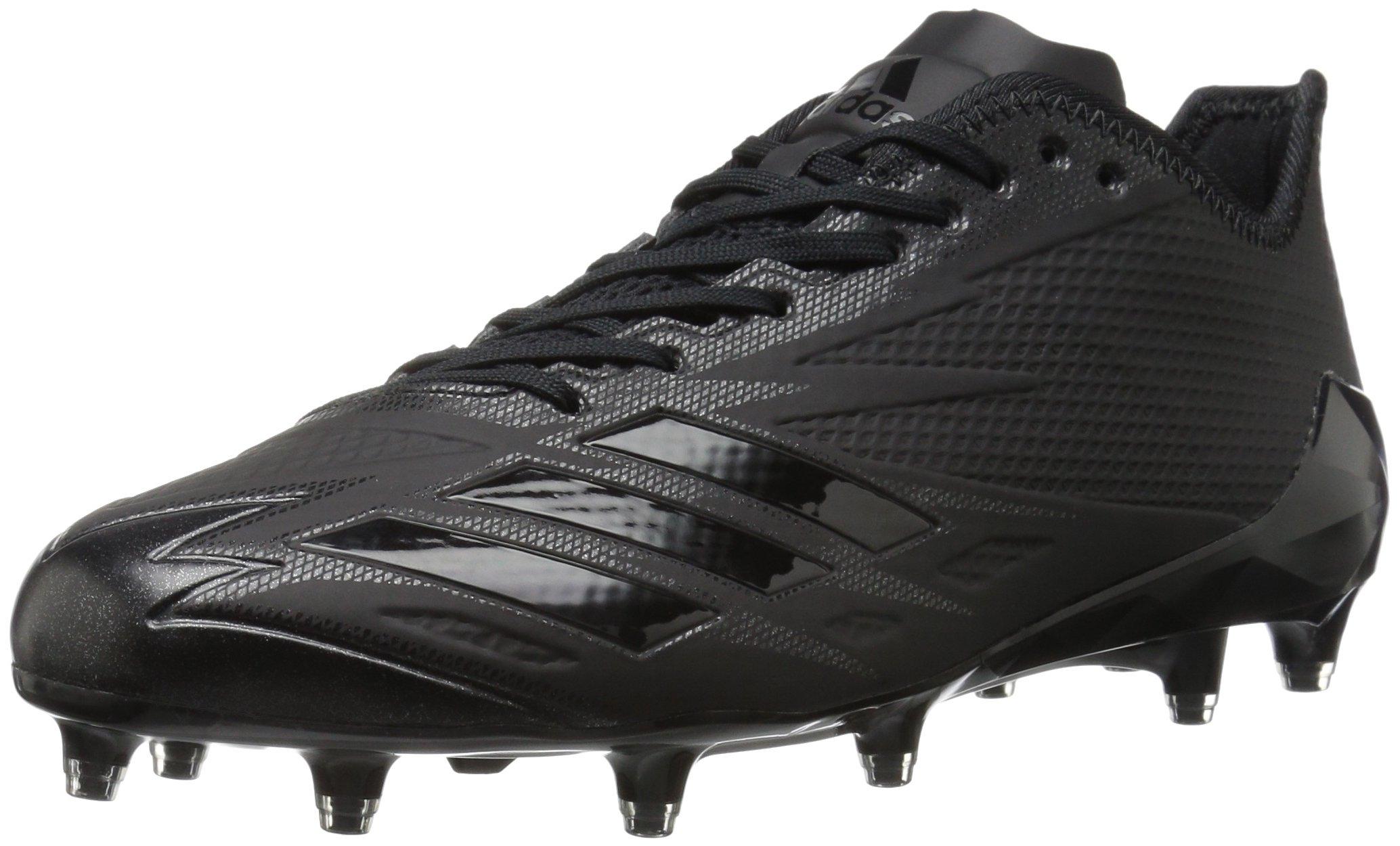 adidas Men's Freak X Carbon Mid Football Shoe, Black/Black/Black, 15 Medium US