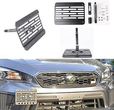 License Plate Relocation Kit For 2015-16 Subaru WRX /& STi New