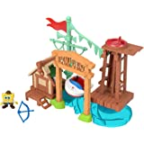 Bob Esponja Camp Coral, Imaginext, Multicolorido, GNG60, Mattel