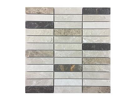 Pietra naturale di mosaico tessere di mosaico in marmo lucido come
