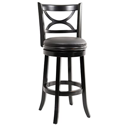 boraam bar stools. Boraam 45729 Florence Bar Height Swivel Stool, 29-Inch, Distressed Black Stools