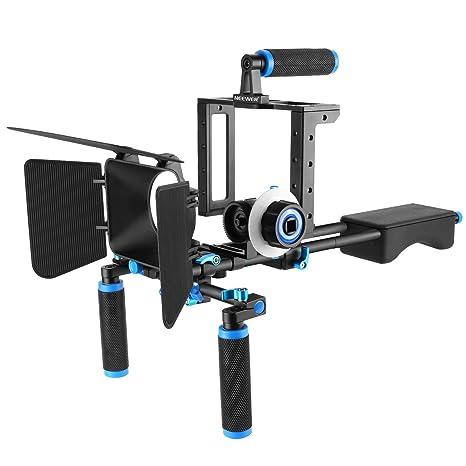 Neewer DSLR Movie Rig aleación Aluminio para réflex Digitales ...