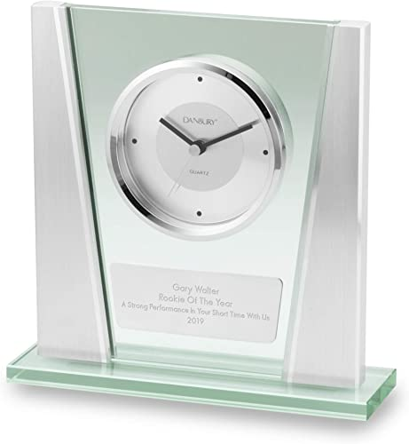 Things Remembered Personalized Modern Glass Clock