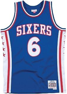 9aa7d9371b2 Julius Erving Philadelphia 76ers Mitchell & Ness Swingman Jersey Blue