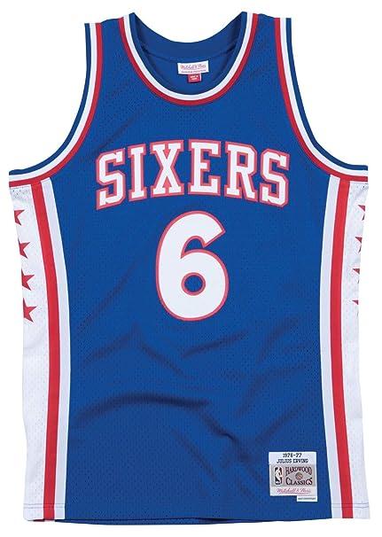 c92b3d661 Mitchell   Ness Julius Erving Philadelphia 76ers Swingman Jersey Blue  (Small)