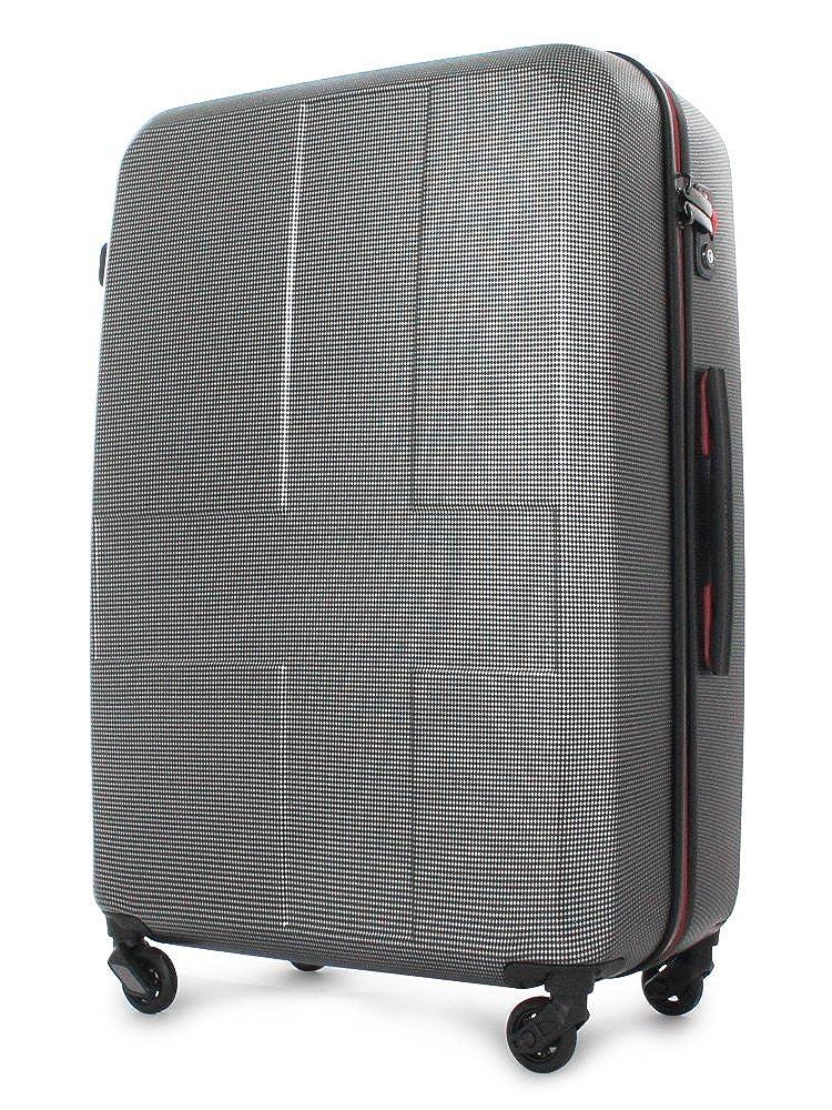 [イノベーター] スーツケース 70L 63cm 3.6kg INV63/63T 【INV63】BK-CROSS-CARBON   B07KVSHXWJ